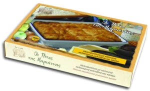 Aubergine and Kaseri Cheese Pie
