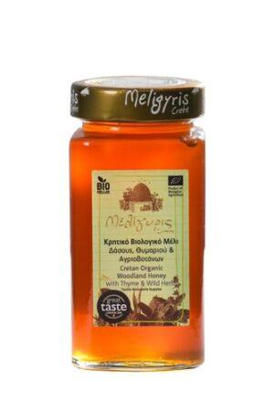 Greek Organic Honey from Crete-Meligyris