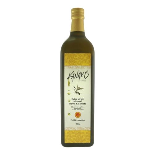 Extra Virgin Olive Oil PDO Kalamata (750ml)-Kanakis