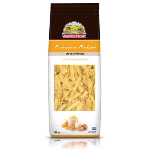 Hilopita Long Greek pasta-Zimarika Psahnon