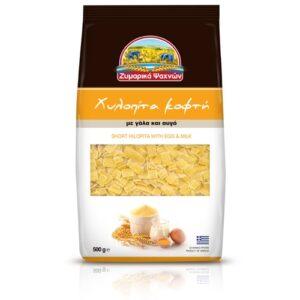 Hilopita Short Greek pasta-Zimarika Psahnon