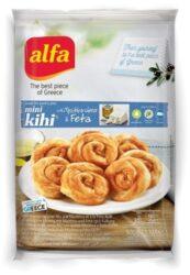 Mini Kihi pies with cheese-Alfa