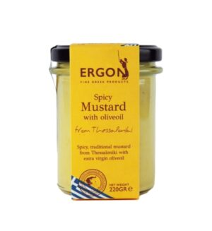 Spicy mustard with olive oil-Ergon