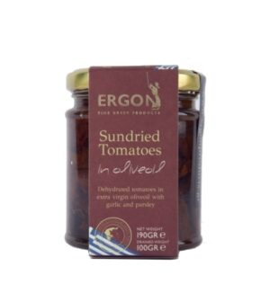 Sundried Tomatoes in olive oil-Ergon