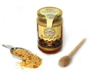 Tahini with honey-Halvas Drapetsonas