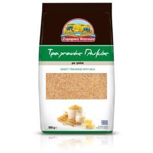 Trahanas sweet-Zimarika Psahnon