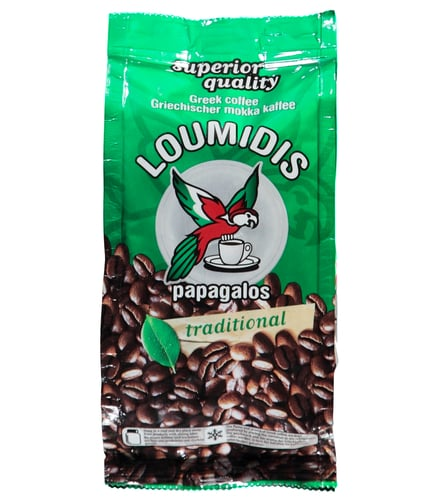 Greek coffee Papagalos-Loumidi
